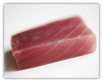 SF Tuna saku defrosted